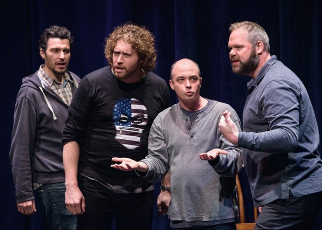 Heavyweight sketch group with TJ Miller
