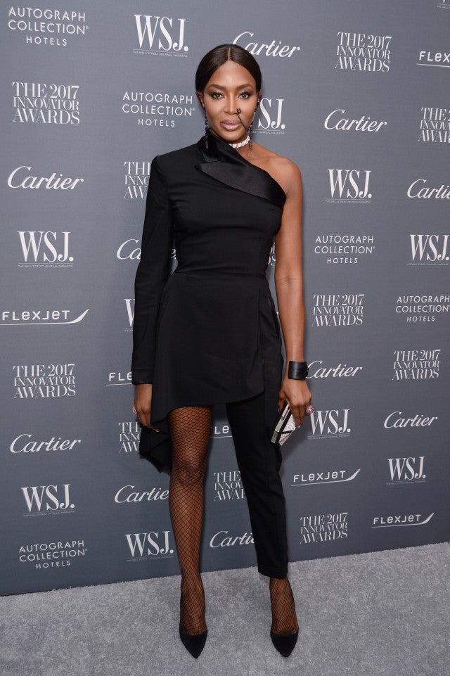 Naomi Campbell at WSJ event