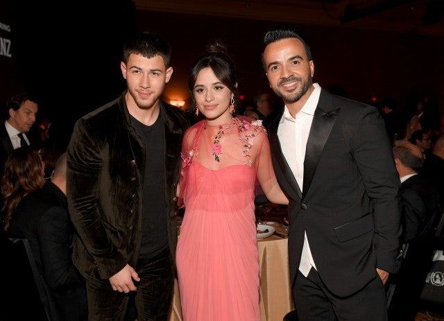 Nick Jonas Camila Cabello Luis Fonsi Person of the Year Gala
