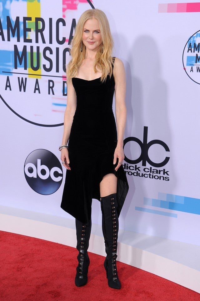 Nicole Kidman at the AMAs
