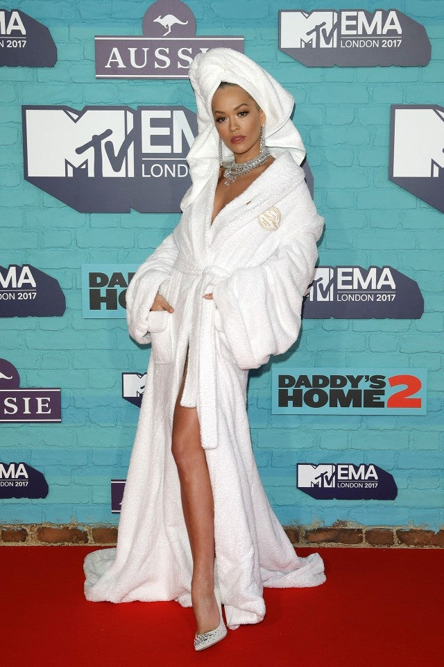 Rita Ora at MTV EMAs