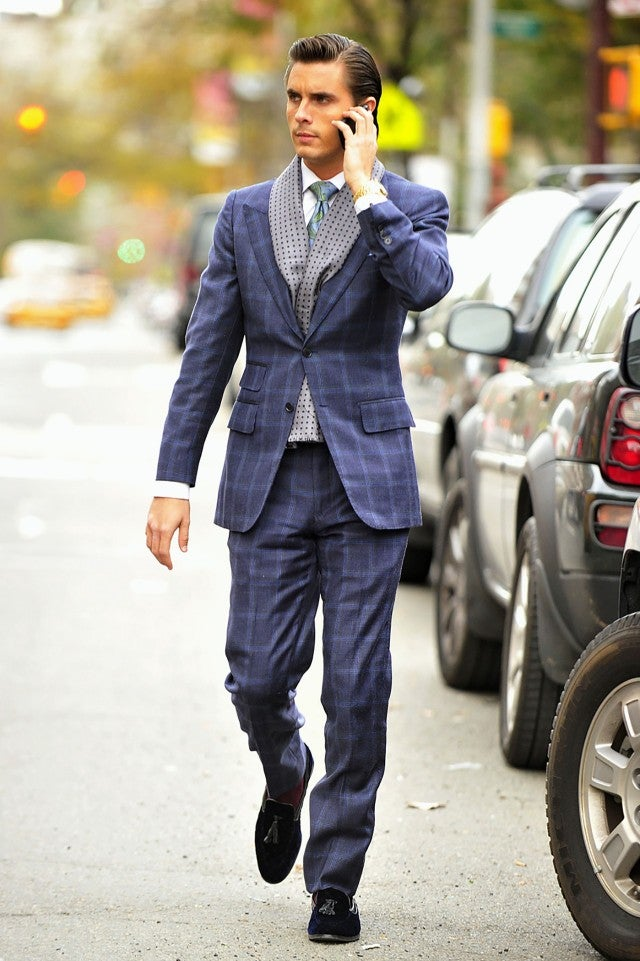 Scott Disick in NYC in 2010