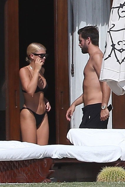 Scott Disick and Sofia Richie in Cabo