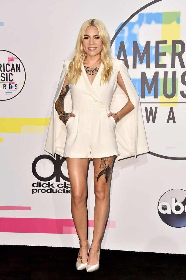 Skylar Grey at the AMAs