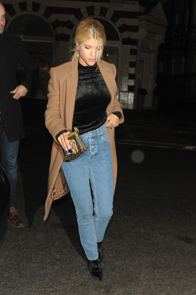 Sofia Richie in London