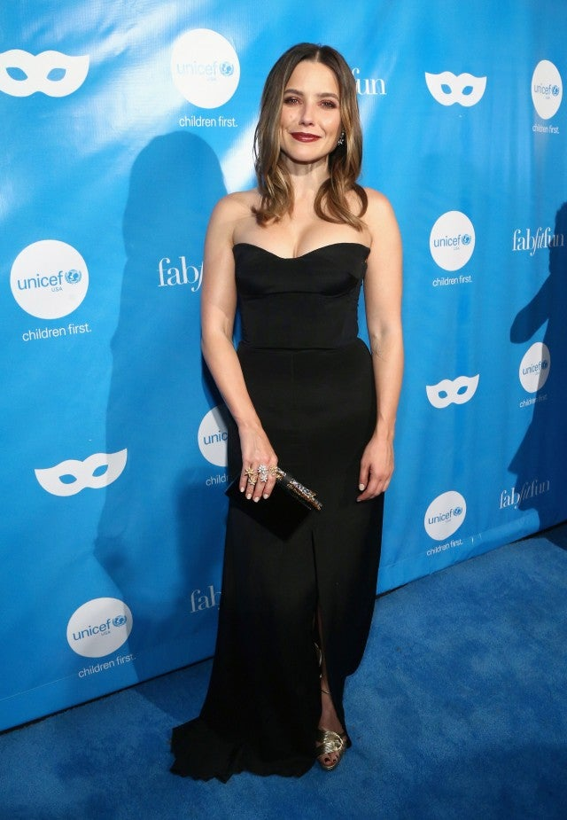Sophia Bush at Unicef masquerade ball