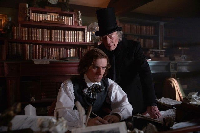 Dan Stevens, Christopher Plummer, The Man Who Invented Christmas