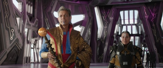 Jeff Goldblum in 'Thor: Ragnarok'