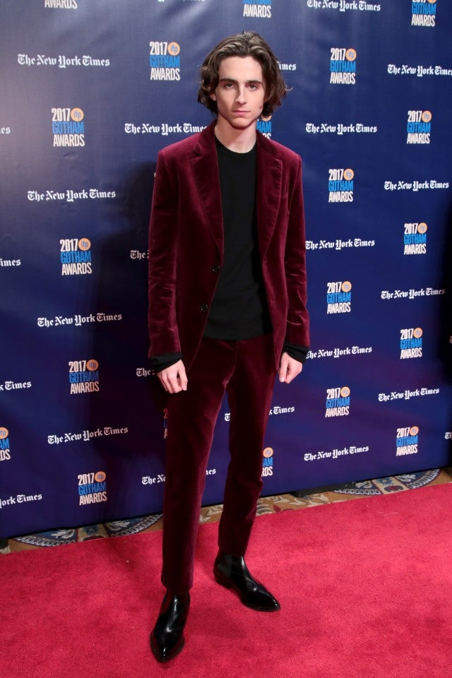 Timothée Chalamet Gotham Awards