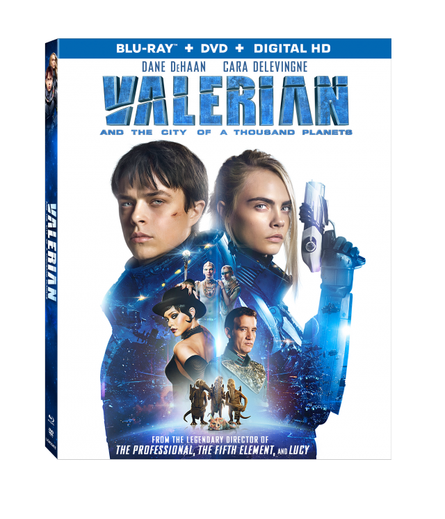 Valerian and the City of a Thousand Planets Keyart