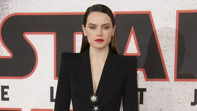 Daisy Ridley at Star Wars: The Last Jedi photo call in London