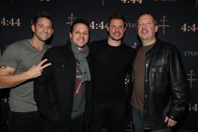 98 Degrees at Jay Z Concert