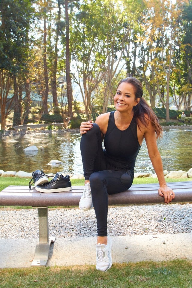 Brooke Burke-Charvet in Skechers
