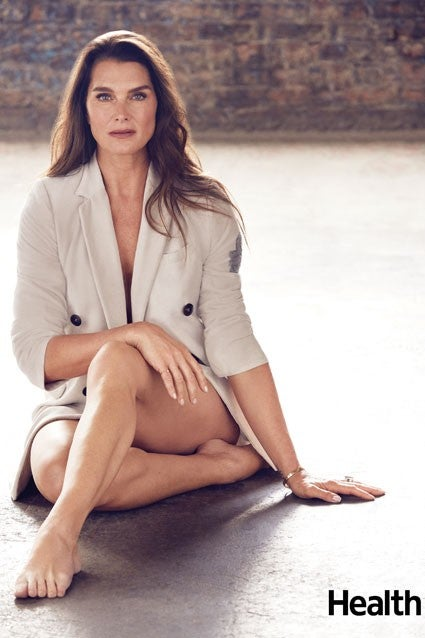 Brooke Shields Health magazine