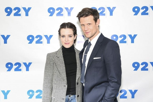 Claire Foy and Matt Smith at 92nd Street Y