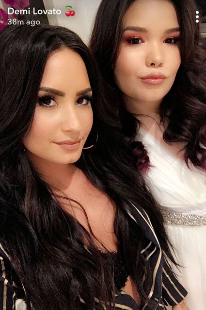 Demi Lovato and Madison De La Garza