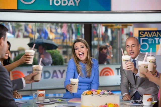 savannah guthrie five years today