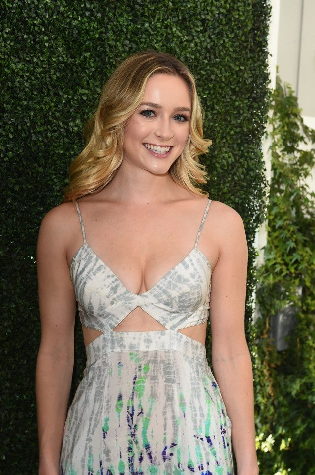 Greer Grammer at lyda beauty party
