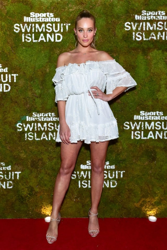 Hannah Jeter at SI Swimsuit party at Art Basel