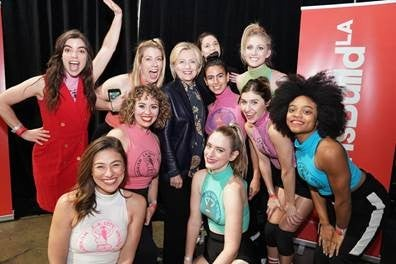 Hillary Clinton at LA Girls Summit