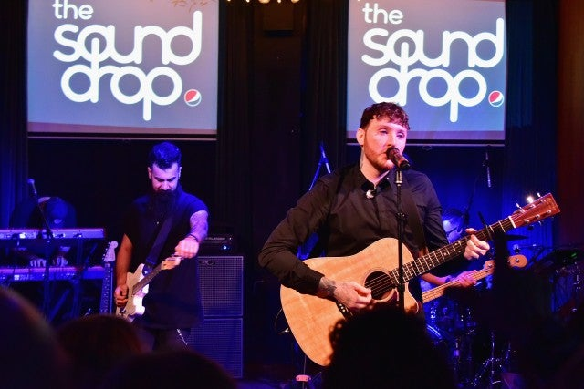 James Arthur at Pepsi Sound Drop