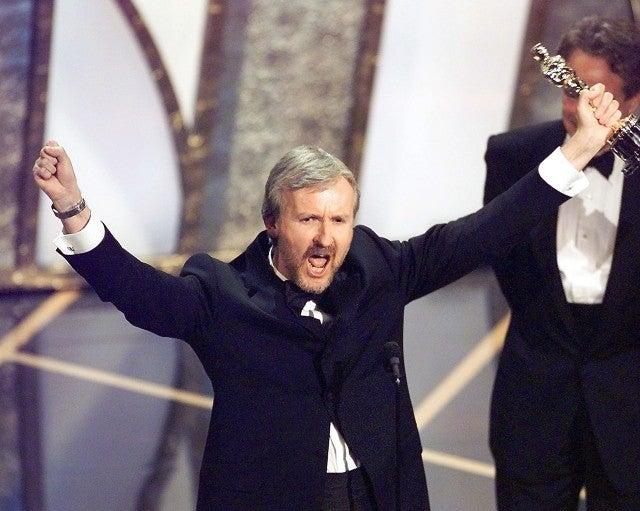 James Cameron Oscars
