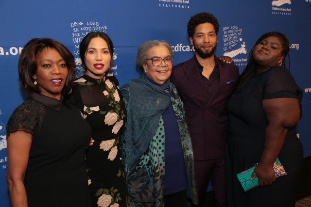 Jussie Smollet at Children's Defense Fund-California's 27th Annual Beat the Odds Awards