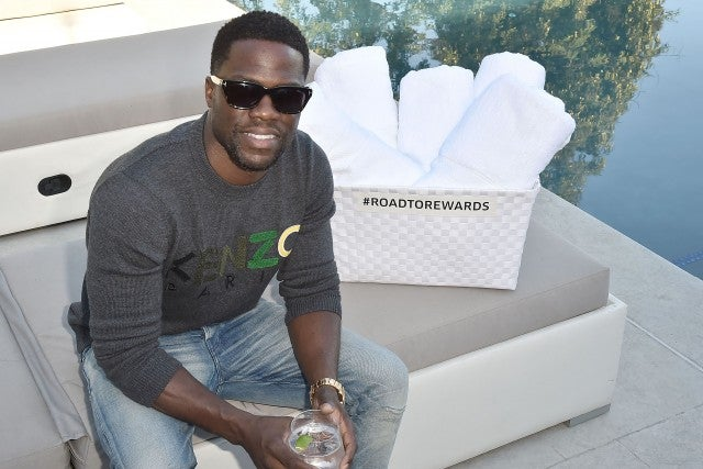 Kevin Hart ar Barclays event