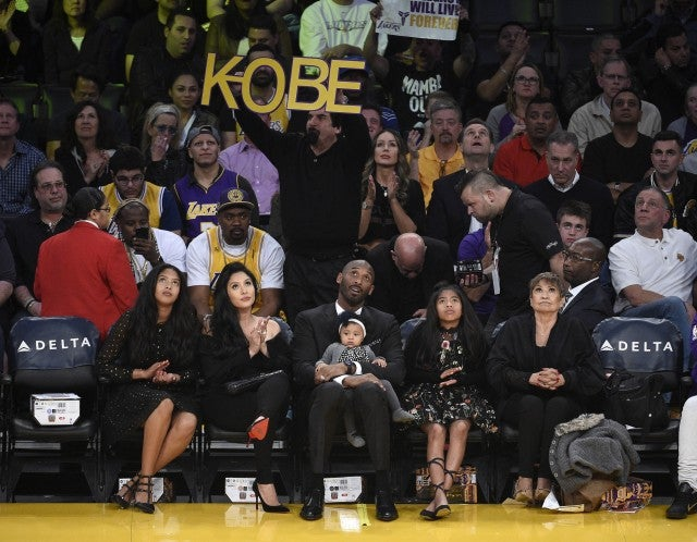 556b2613f65 Kobe Bryant's Family Joins Him for Numbers Retirement Ceremony With ...