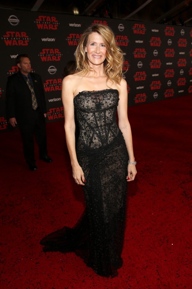 Laura Dern at the Star Wars: The Last Jedi premiere