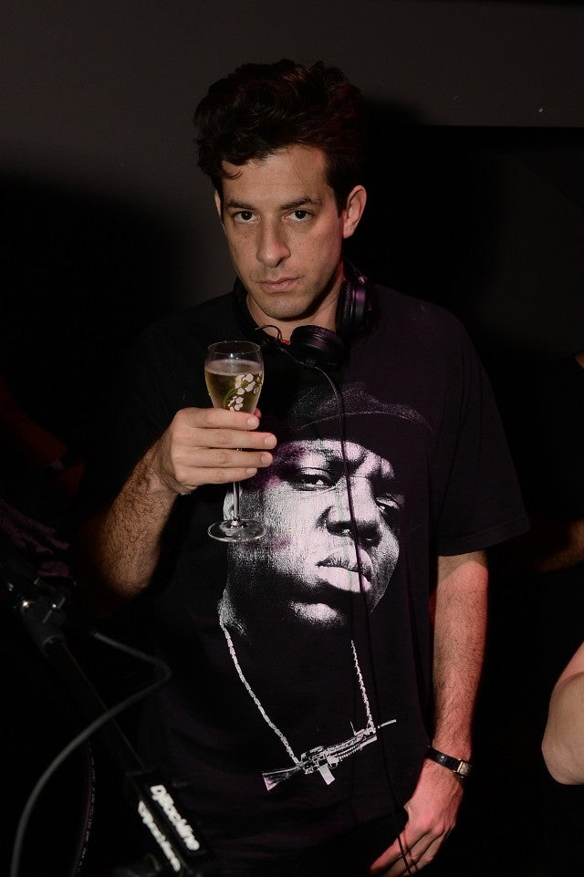 Mark Ronson at Art Basel