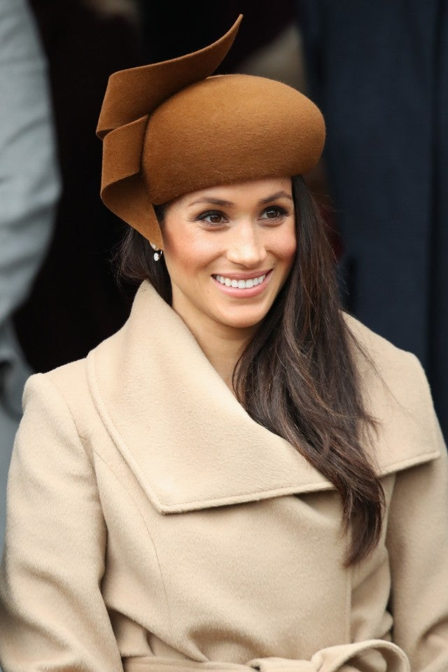 Meghan Markle - Christmas day hat