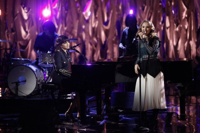 Norah Jones on The Voice finale with Addison
