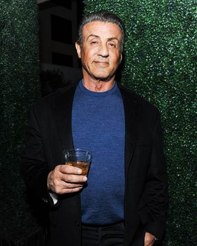 Sylvester Stallone at Nicole Frank Clothing