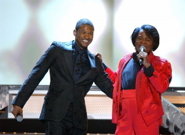 Usher, James Brown Grammys