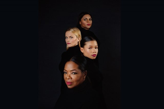 Wrinkle in Time cast in Time magazine