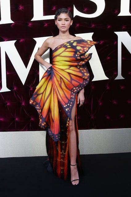 Zendaya Transforms Into A Butterfly On Greatest Showman