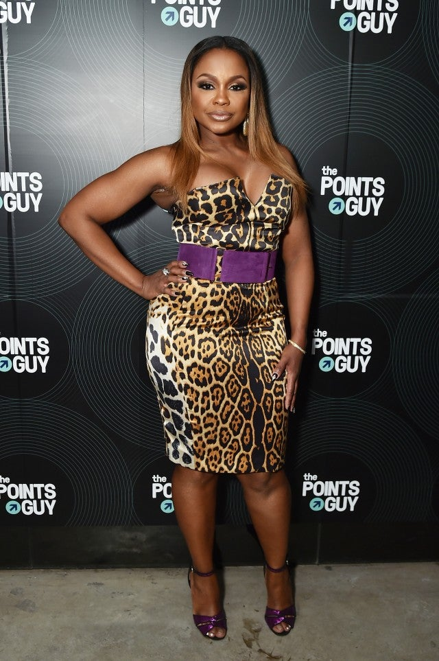 Phaedra Parks at pre-grammy party
