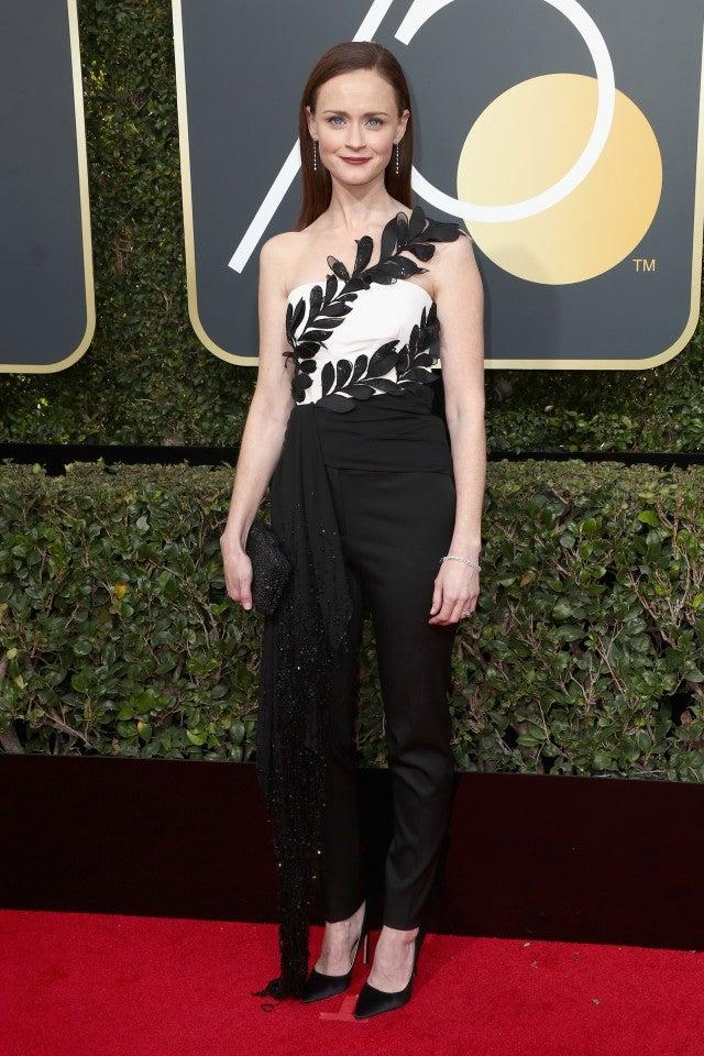 Alexis Bledel at 2018 Golden Globes