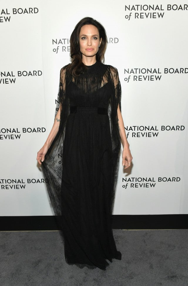 Angelina Jolie National Board of Review Gala