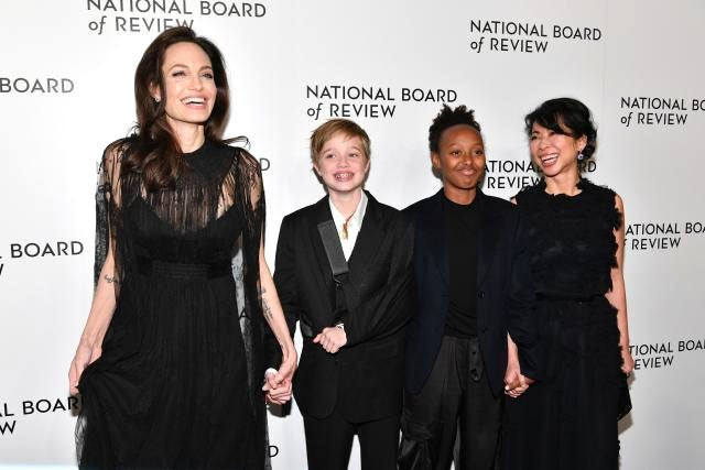 Angelina Jolie family and Loung Ung