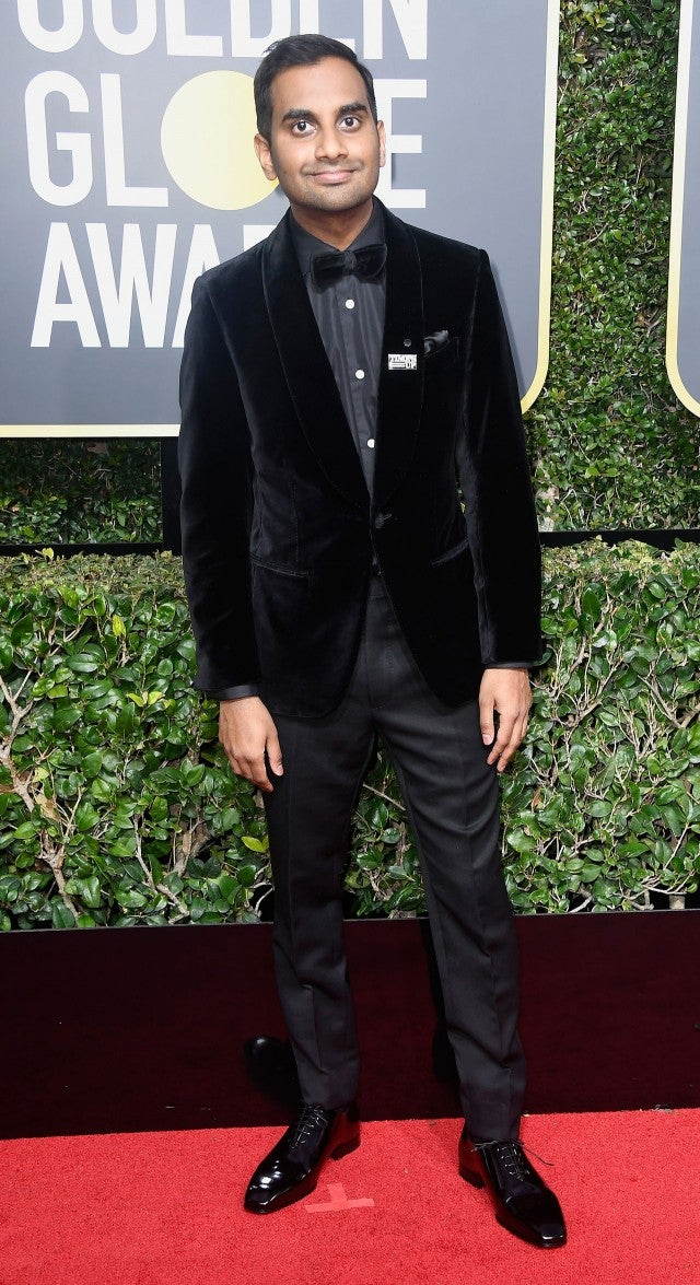 Aziz Ansari at 2018 Golden Globes
