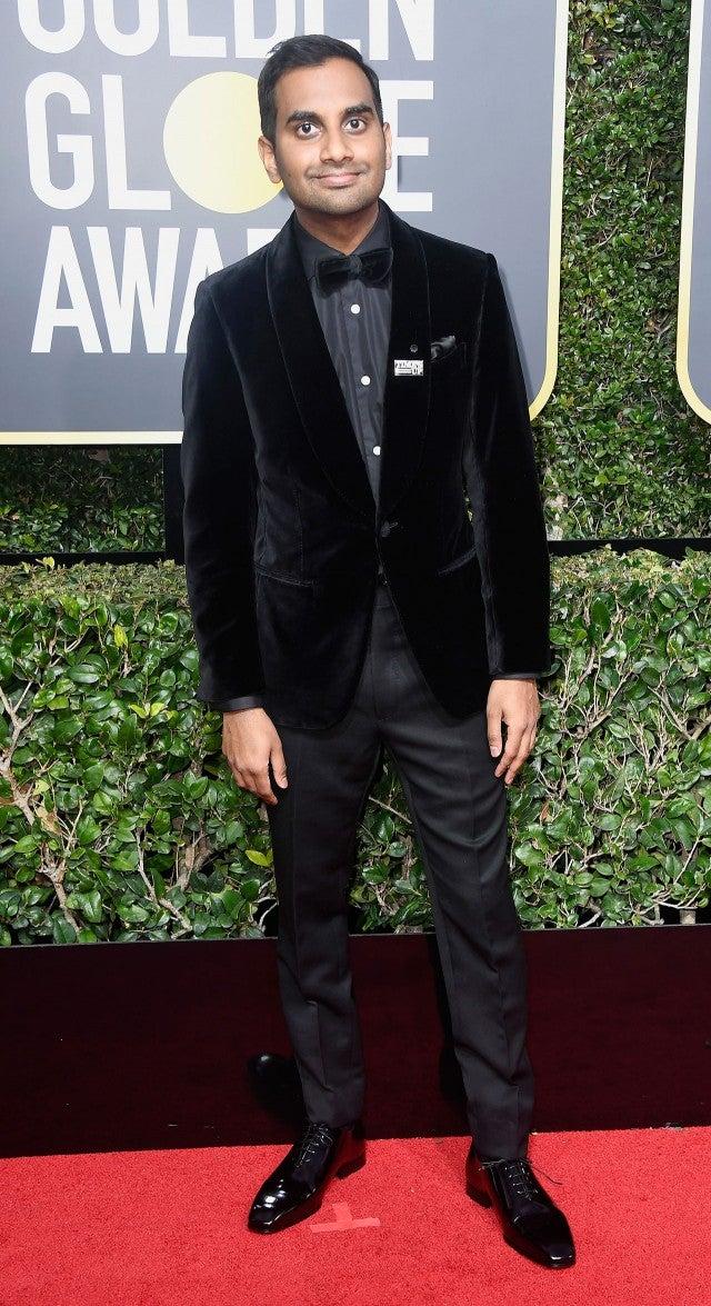 Aziz Ansari at 2018 Golden Globes