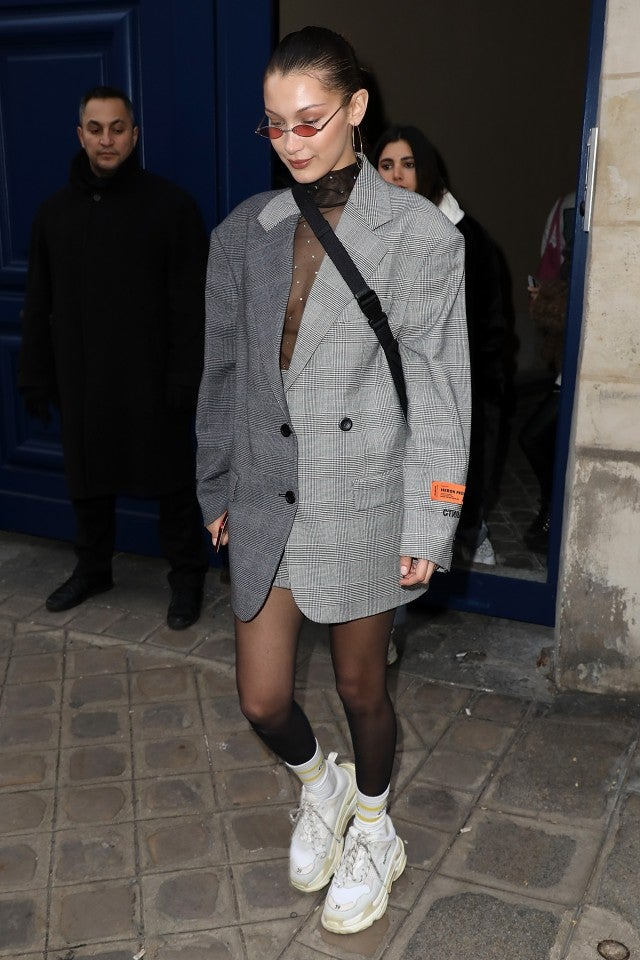 Bella Hadid in Paris