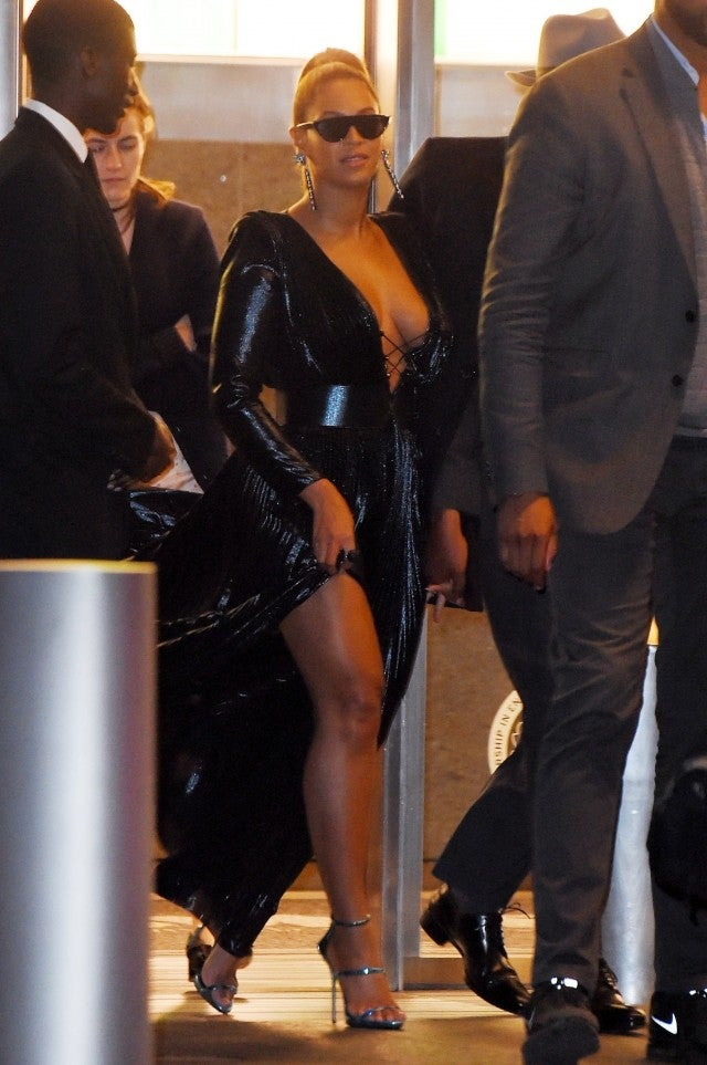 Beyonce And Jay Z Dress To Impress For Roc Nation Brunch