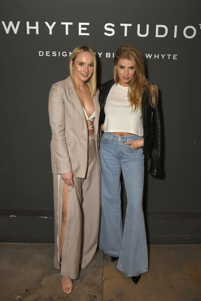 Charlotte McKinney at WHYTE STUdios collection celebration