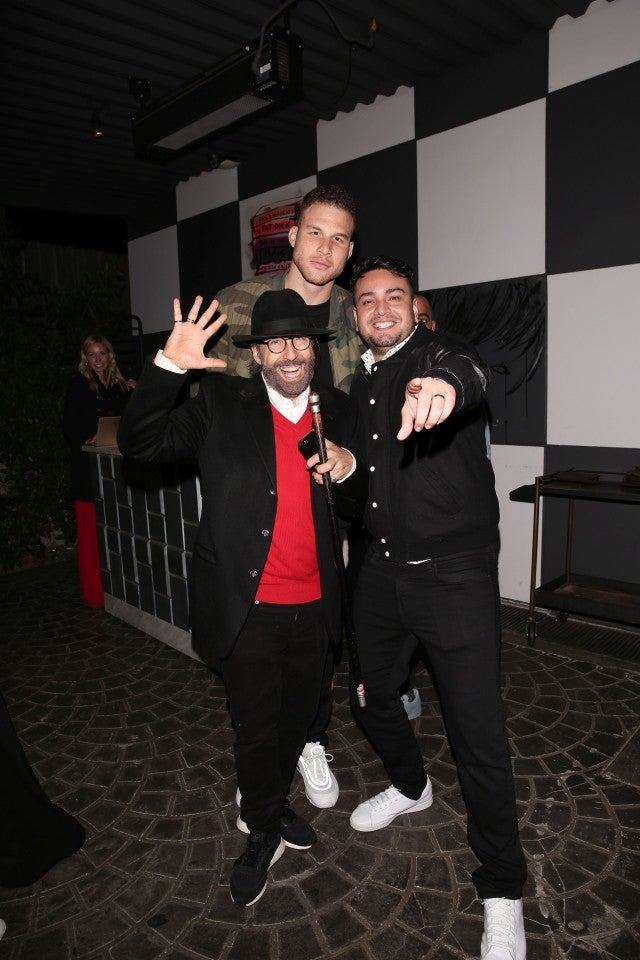 Blake Griffin on NYE