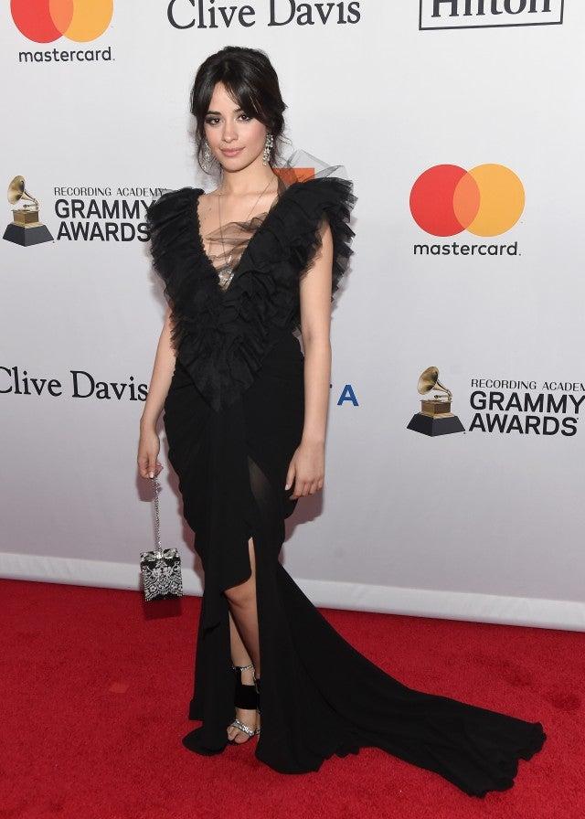 Camila Cabello at Clive Davis Party