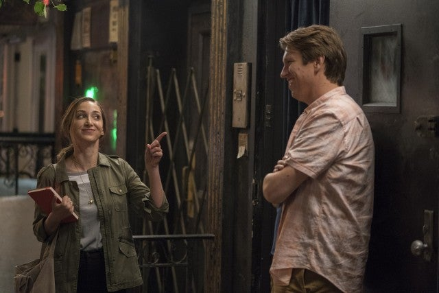 Jamie Lee and Pete Holmes on 'Crashing'