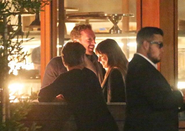 Chris Martin and Dakota Johnson Malibu Date Night 011418